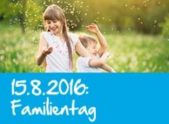 15.08.2016: <br>Familientag Freizeitarena Brauneck